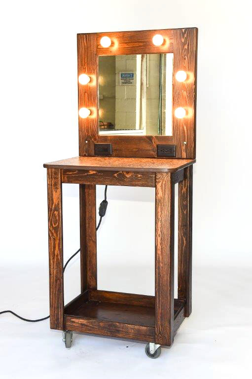 Hair Makeup Table Top Stations With